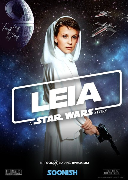 Leia: A Star Wars Story (Disney+ series) Fan Casting Poster