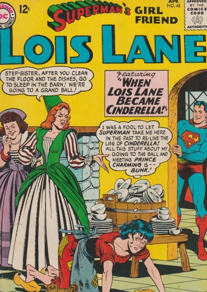 Lois Lane as Helen of Troy, Cinderella and Florence Nightingale  Fan Casting Poster