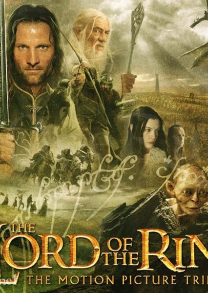 Lord of the Rings TV Series Fan Casting Poster