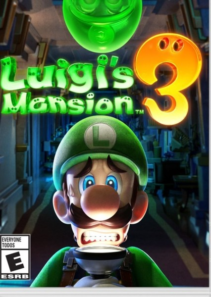 Luigi's Mansion 3 (1999) Fan Casting Poster