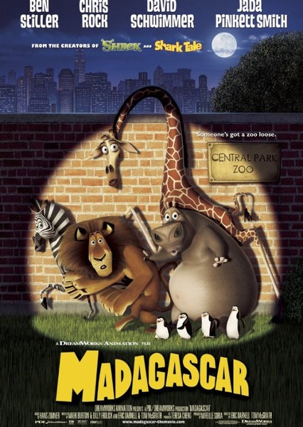Madagascar Fan Casting Poster