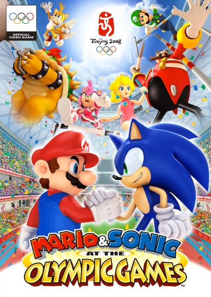 Mario & Sonic: The Movie Fan Casting Poster