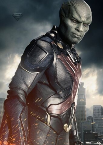 Martian Manhunter  Fan Casting Poster