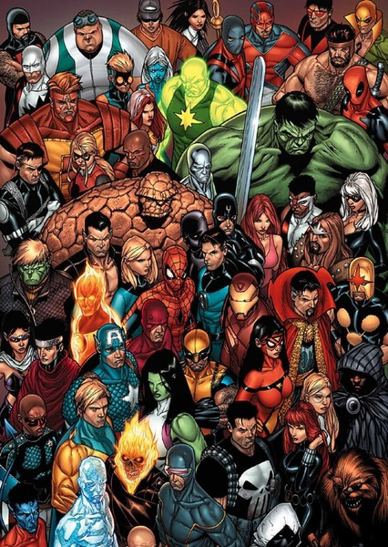 Marvel Cinematic Universe Fan Casting Poster