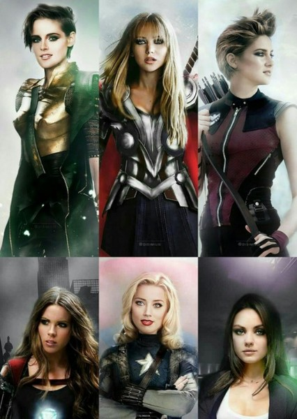 Marvel Comics (Gender Swap) Fan Casting Poster