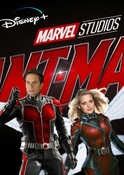 Marvel's Ant-Man and The Wasp Disney Plus Fan Casting Poster