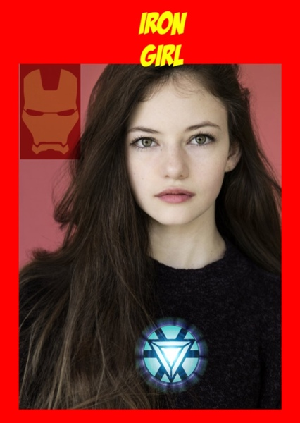 Marvel Studios : Iron Girl Fan Casting Poster