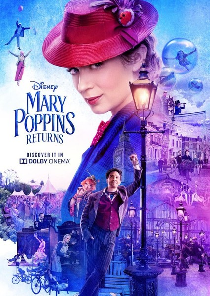 Mary Poppins Returns Fan Casting Poster