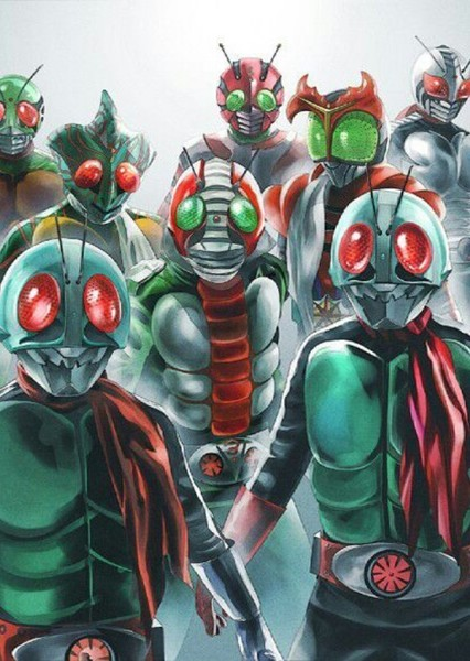 Masked Riders (Fox Kids Series) Fan Casting Poster