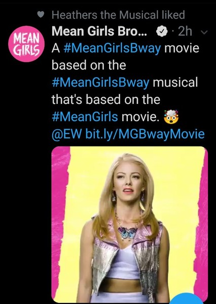 Mean Girls the musical the movie  Fan Casting Poster