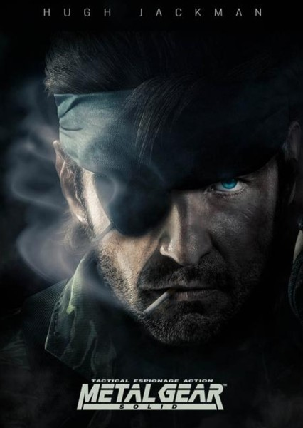Metal Gear Solid  Fan Casting Poster