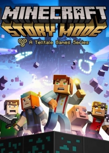 Minecraft story mode  Fan Casting Poster