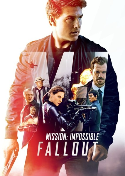 Mission Impossible 6 Fallout reboot Fan Casting Poster