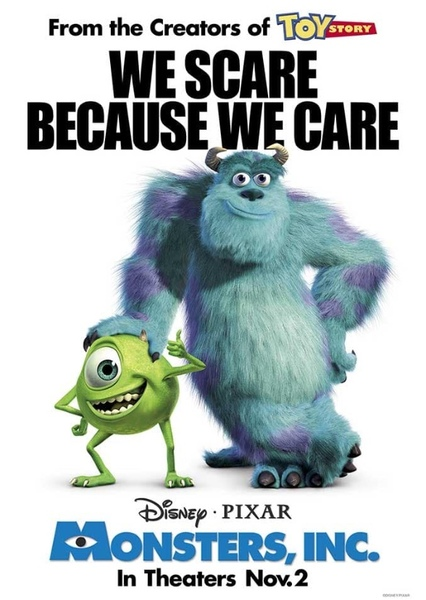 Monsters, Inc. Fan Casting Poster