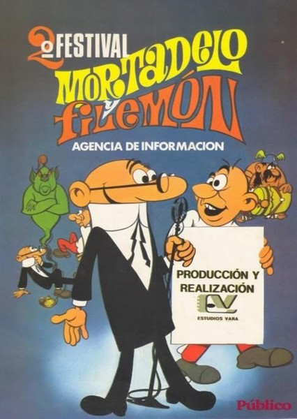 Mortadelo y Filemón 1969 Series (English Dub) Fan Casting Poster