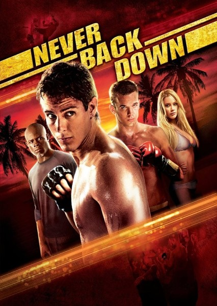 Never Back Down (1988) Fan Casting Poster