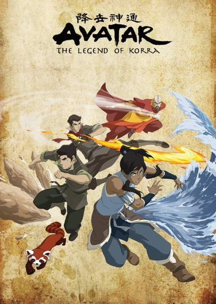 New ANIMATED film based on avatar the last Airbender and korra  Fan Casting Poster
