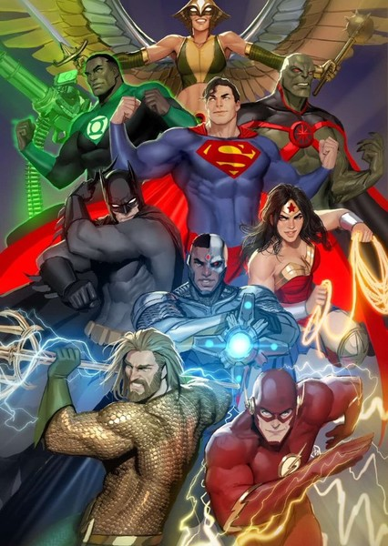 New DC universe Fan Casting Poster