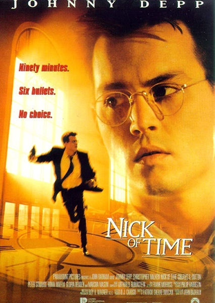Nick of Time Fan Casting Poster