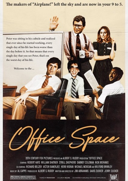 Office Space (1981) Fan Casting Poster