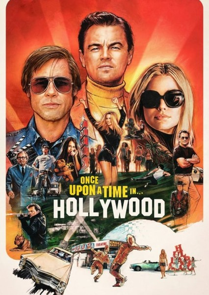 Once Upon a Time in Hollywood (2029) Fan Casting Poster