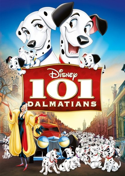 One Hundred And One Dalmations Fan Casting Poster