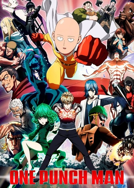 One Punch Man: Sony Live Action Movie Fan Casting Poster