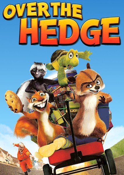 Over The Hedge (live action) Fan Casting Poster