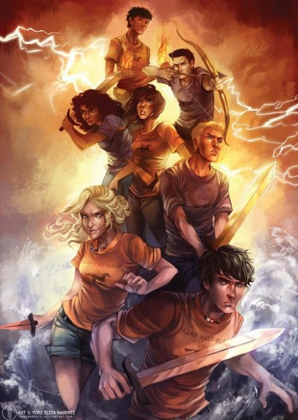 Percy Jackson (Live-action series)  Fan Casting Poster