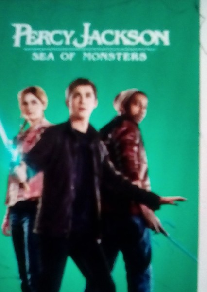 Percy Jackson and the sea of monsters Fan Casting Poster