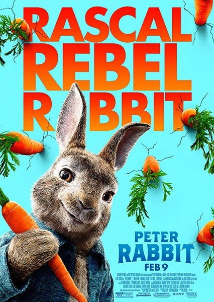 Peter Rabbit Fan Casting Poster