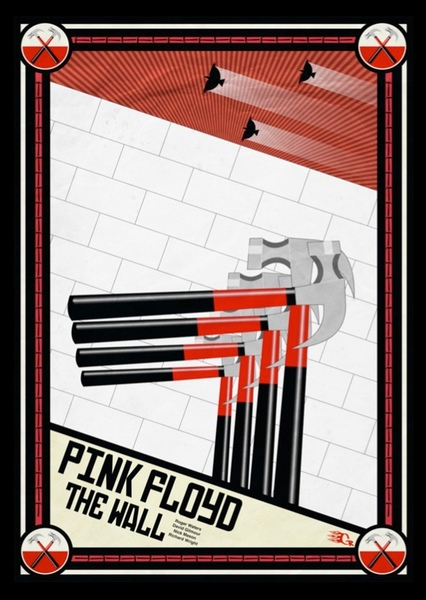 Pink Floyd: The Wall Fan Casting Poster