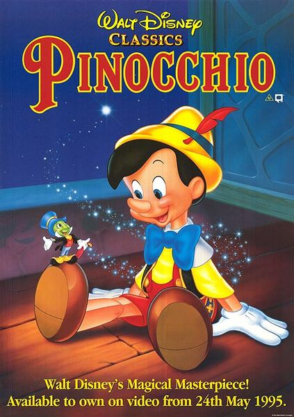 Pinocchio Fan Casting Poster