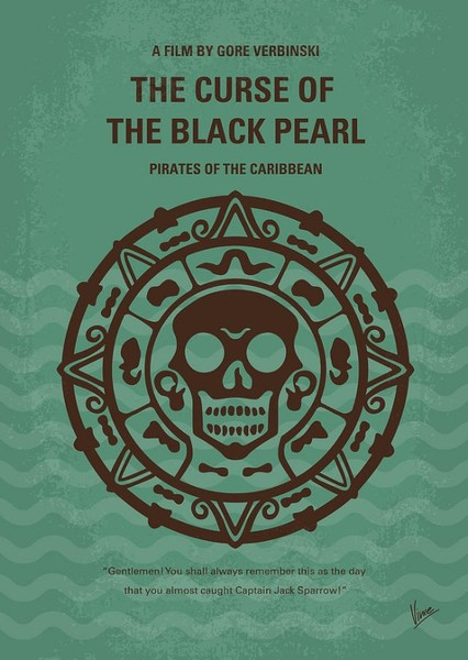 Pirates of the Caribbean: The Curse of the Black Pearl Fan Casting Poster