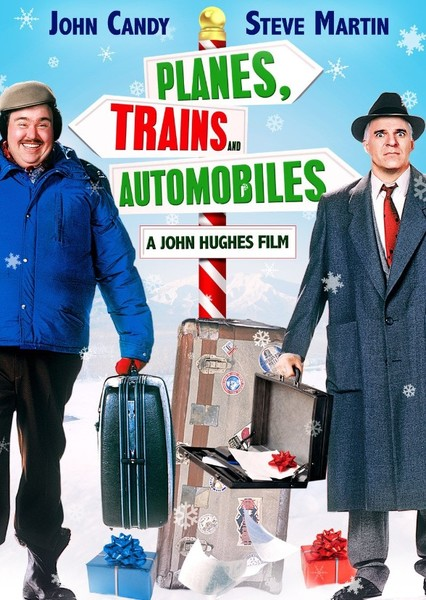 Planes, Trains and Automobiles Fan Casting Poster
