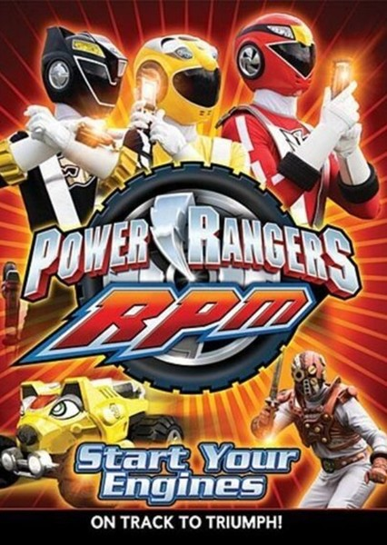 Power Rangers RPM (Reboot) Fan Casting Poster