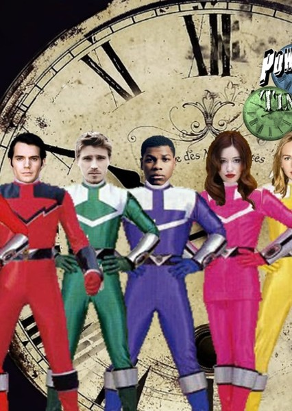 Power Rangers Time Patrol Fan Casting Poster