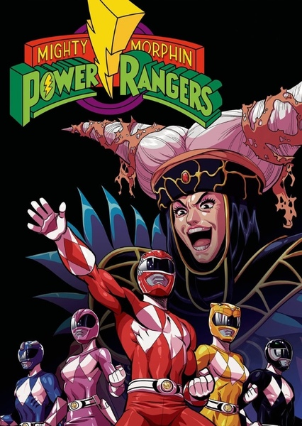 Power Rangers vs. The Wiggles Fan Casting Poster