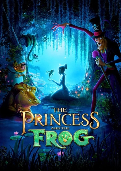Princess and The Frog Fan Casting Poster