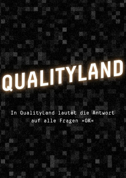 Qualityland Fan Casting Poster