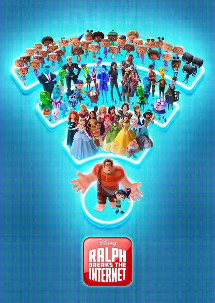 Ralph Breaks the Internet princesses Fan Casting Poster
