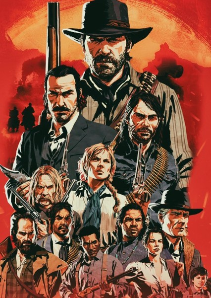 Red Dead Redemption. Fan Casting Poster