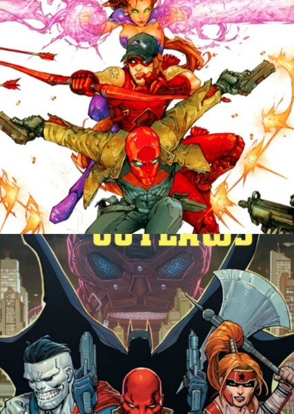 Red Hood and the Outlaws Fan Casting Poster