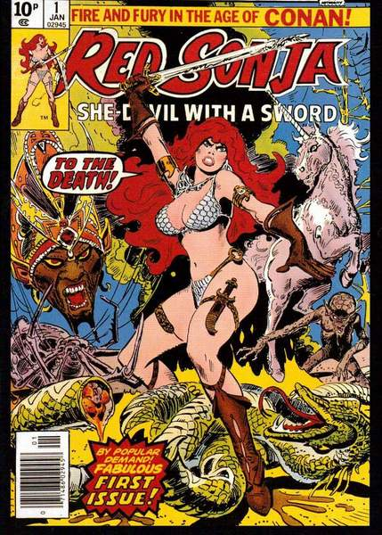 Red Sonja Fan Casting Poster