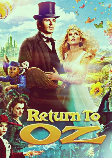Return To Oz  Fan Casting Poster