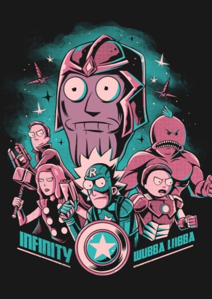 Rick and Morty meet the Marvel Universe (Animated) Fan Casting Poster