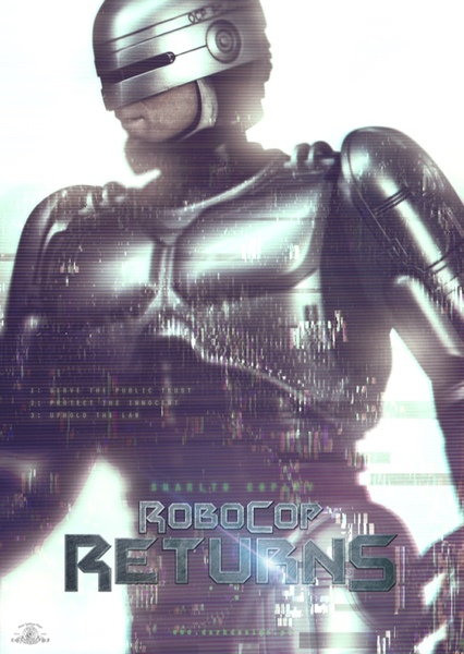 RoboCop Returns Fan Casting Poster