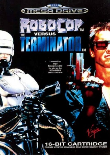 RoboCop vs The Terminator (1990's) Fan Casting Poster