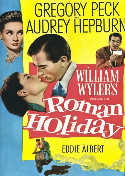 Roman Holiday Fan Casting Poster
