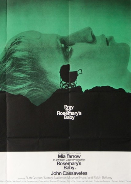 Rosemary's Baby Fan Casting Poster